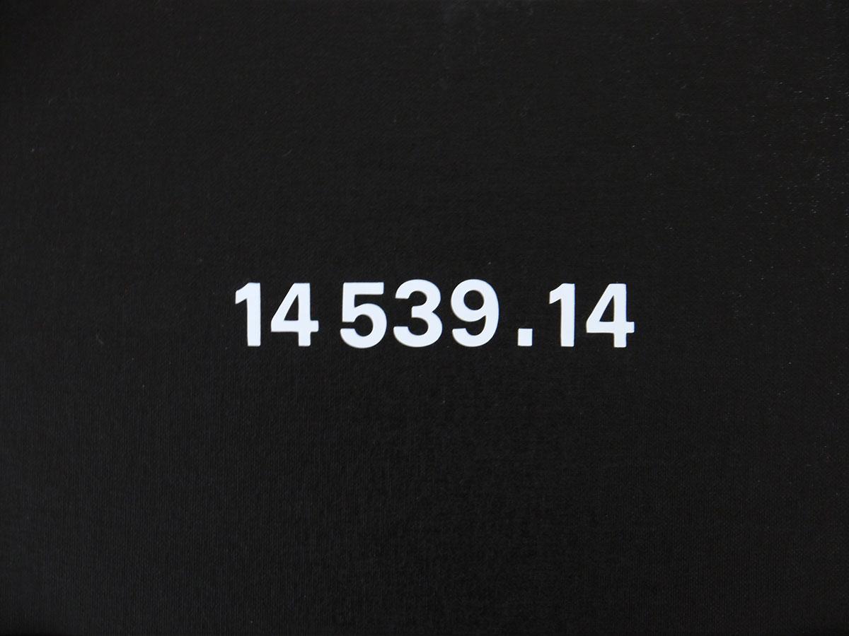 Back to Black II, 2013 Mixed Media on Board 28.5 x 39 cm