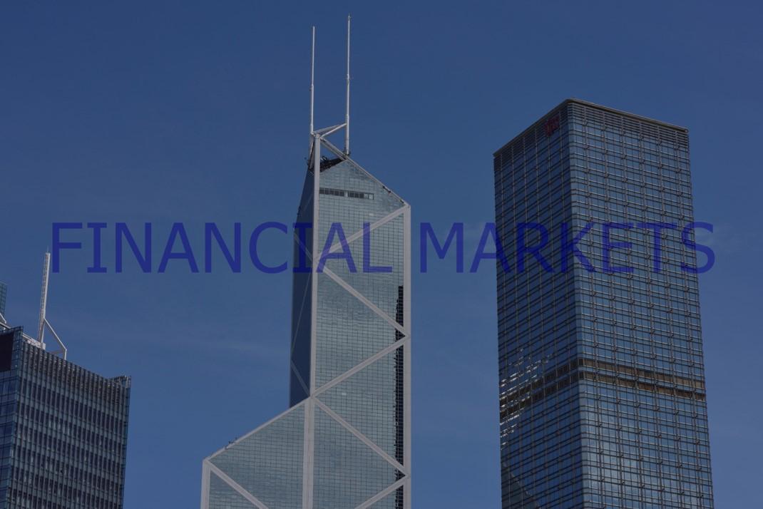 Financial Markets, 2020-2021.  Digital Photo