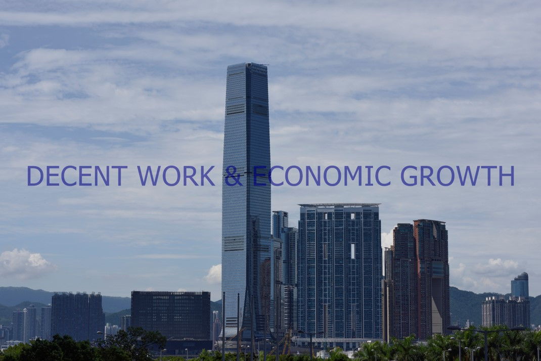 Decent Work & Economic Growth, 2020-2021.  Digital Photo
