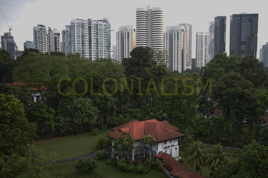 Colonialism, 2018-2021.  Digital Photo