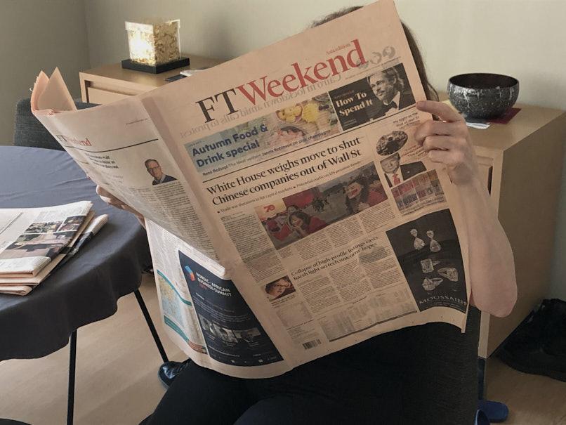 28/29 September 2019. Draghi parting shot creates repair job for Lagarde. Digital Photo.