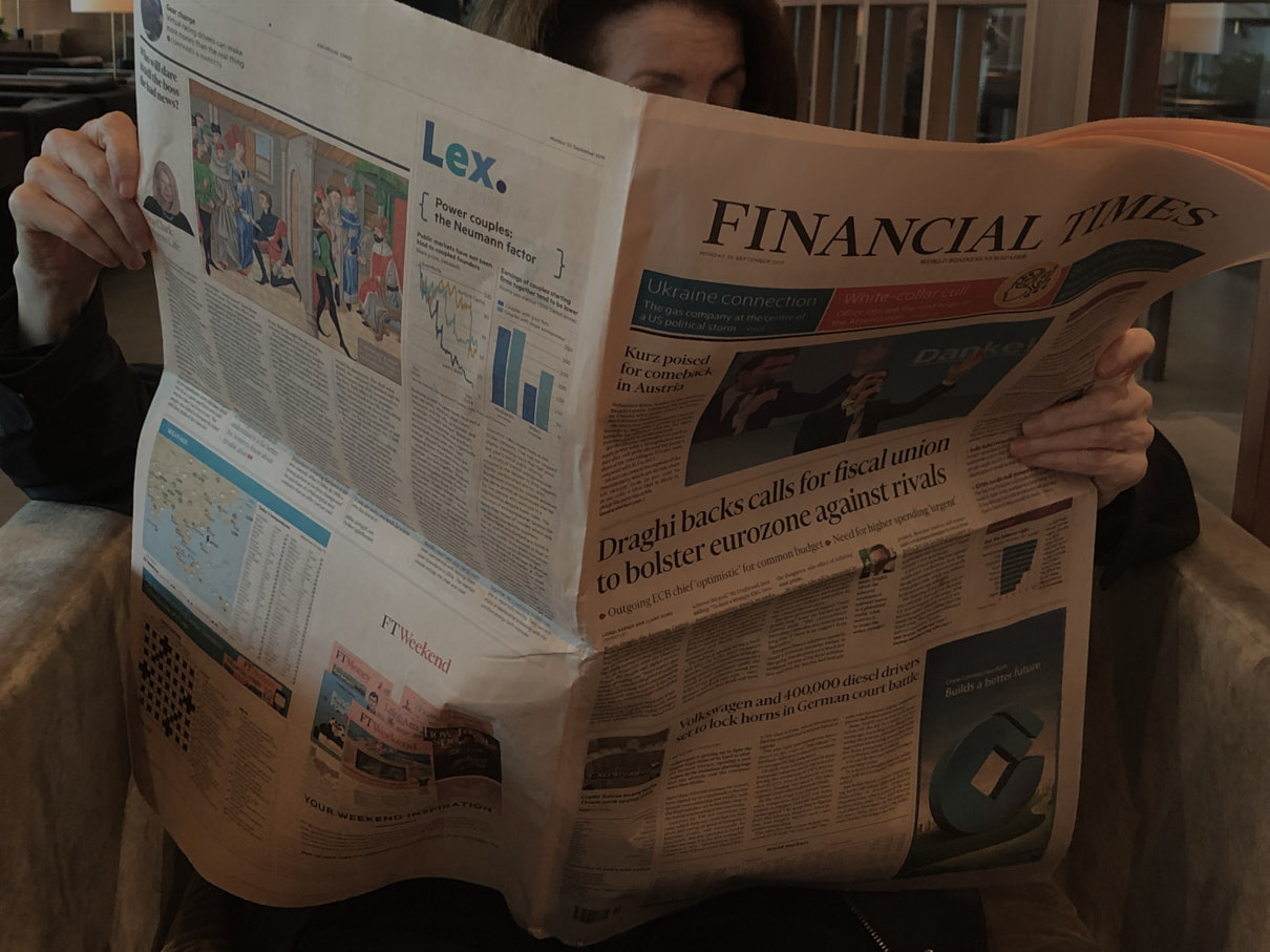 30 September 2019. IPO failures show the market is growing up. Digital Photo.